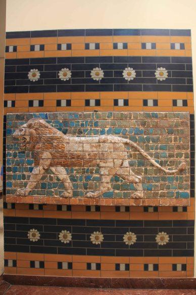 Babylon Lion relief