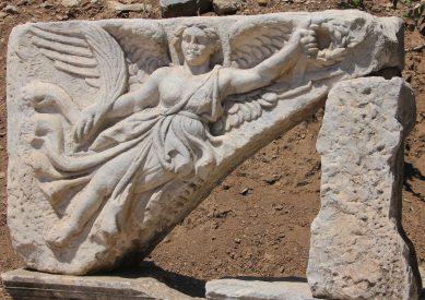 The original Nike, goddess of victory