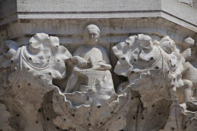 Every column supporting the Doge's palace had a different capital. I love the details.