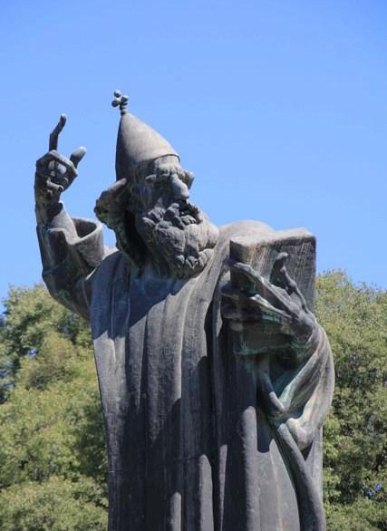 Some bishop or other, I prefer Merlin