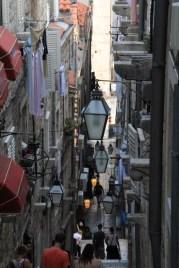 Steep street, lots of stairs!