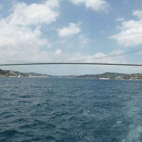 One of the only two (currently) bridges across the Bosphorus