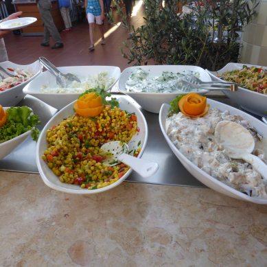 Salads galore