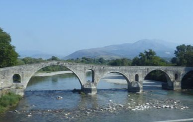 The famous bridge of Arta.