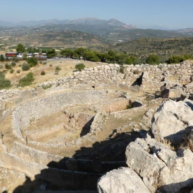 Royal Graves at Mycenae
