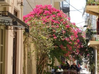 The streets of Nafplio