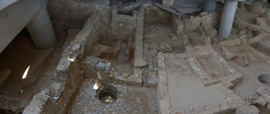 Ongoing dig under the Acropolis museum.