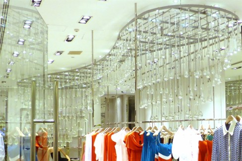 THE GATE MALL - MANY SHOPS FEATURED IMPRESSIVE MODERN CHANDELIERS