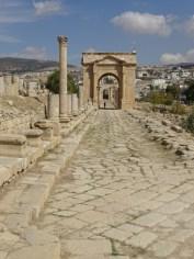 Jerash - Roman Road