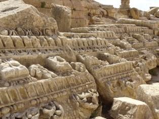 Jerash - a few spare bits of Roman stone