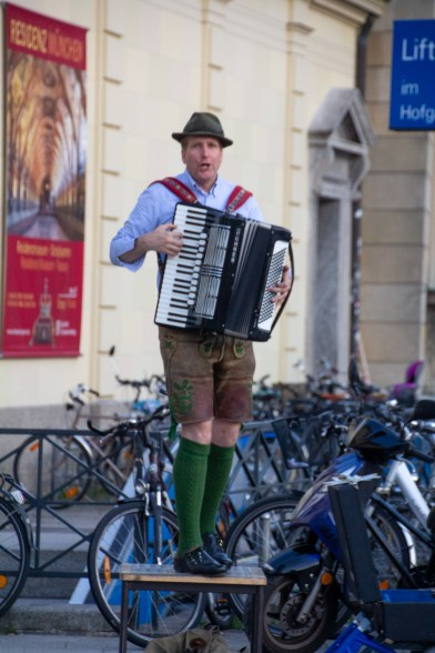 Busking, German-style