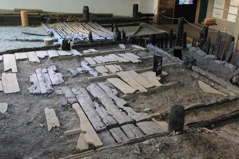 The floor of Bergen, ca 1200