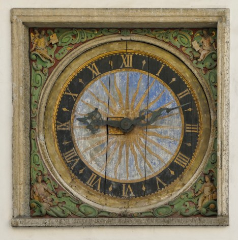 Clock from 1633