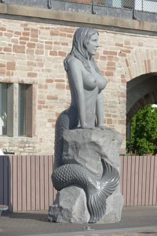 The not-so-little mermaid