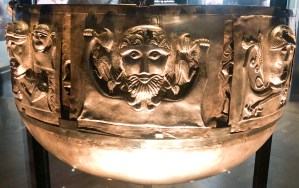 Iron Age (around 150 BCE). the largest known example of European Iron Age silver work