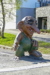 Trolls are everywhere in Norway.