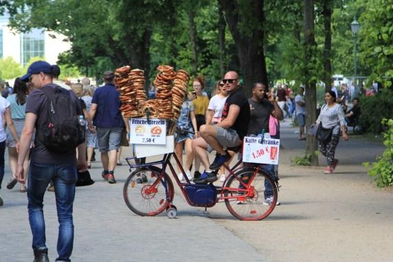 Anyone for a pretzel?