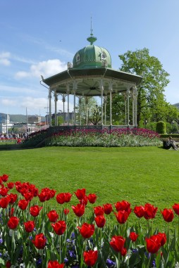 Bandstand in downtown Bergen