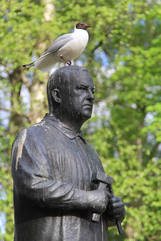 Gustav Vigeland himself.