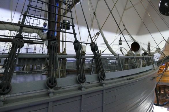 The Fram rigging
