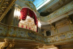 The Royal box in the theatre
