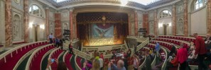 Not a great photo, but the only one we got that shows the whole theatre.
