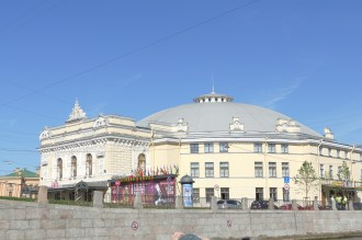 Circus Ciniselli was the first brick-built circus in Russia, opened in 1877
