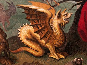 Dragon from Marcello Provenzale - Orpheus
