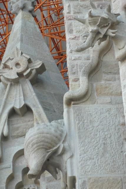 La Sagrada Família - elements from nature