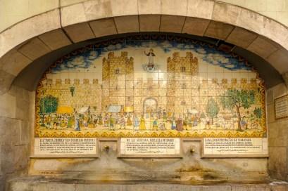 La Rambla Fountain