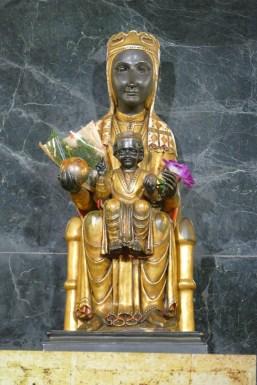 A copy of the Virgin of Montserrat