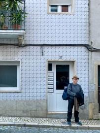The unremarkable street ebtrance