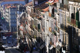 Porto is a steep, hilly city