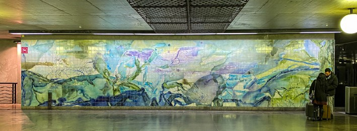 Oriente Metro Station