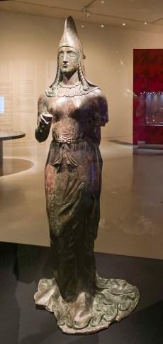 Bronze Statue of a Lady, Iran, 300CE