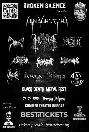 Byu ticket for Broken Silence Black Death Metal Fest 2020