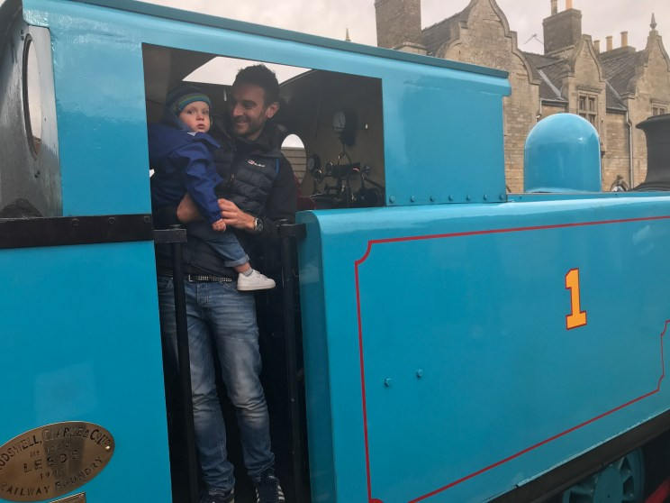 meeting thomas at the new valley railway