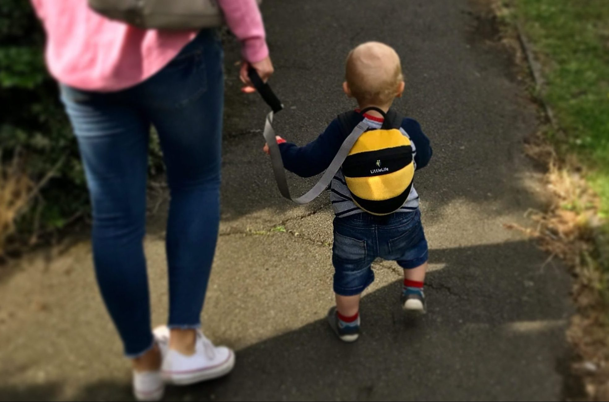 144bf1179d2 Toddler reins  good or bad idea  – The Outdoor Dad
