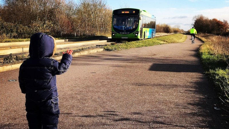 Why is my kid obsessed with buses?
