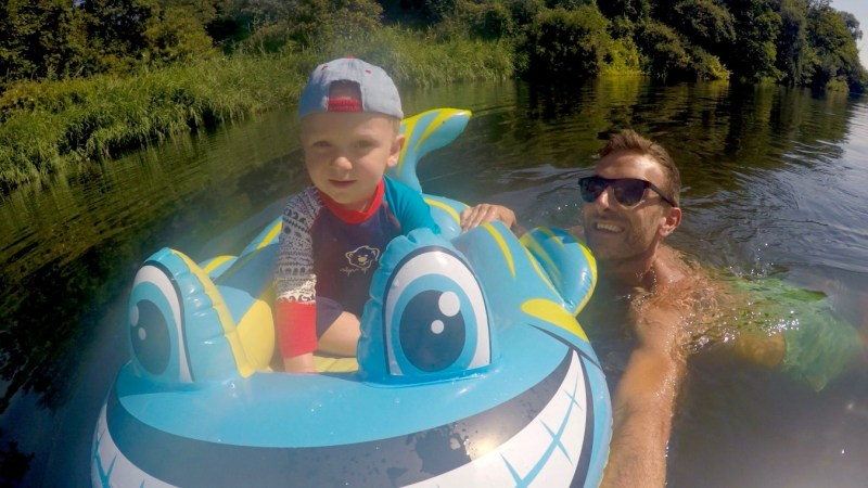 Wild swimming with toddlers: is it safe?