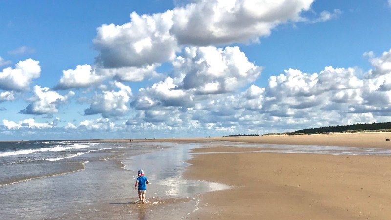 Family days out: Holkham beach, Norfolk