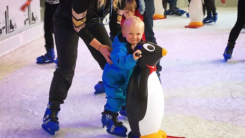 London Ski & Snowboard Show with kids