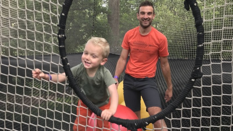 Family days out: Go Ape Nets Kingdom