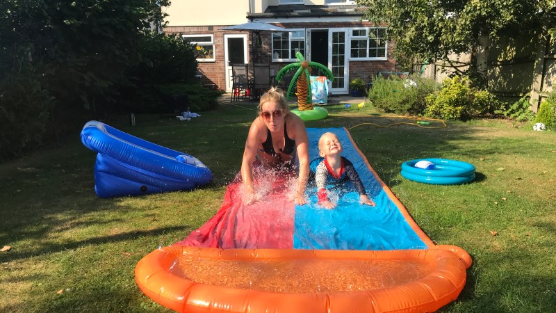 How to turn your garden into mini a water park