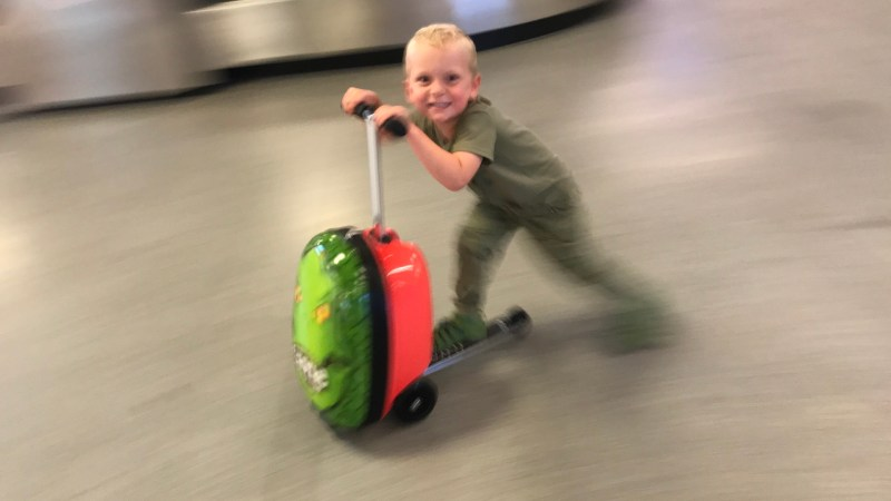 Review: Flyte Zinc Scooter Case for kids