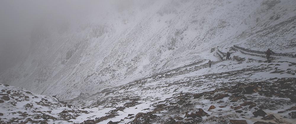 Snow at Snowdon
