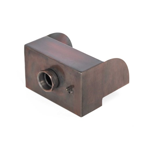 Smooth Flow Radius Scupper - back view