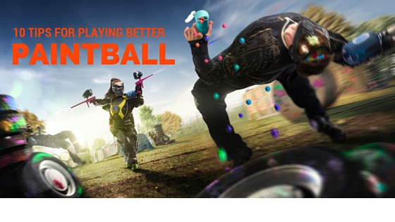 playing paintball tips