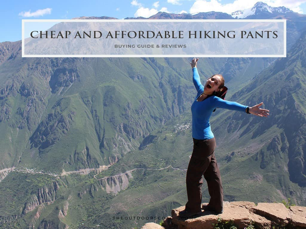 best cheap hiking pants for men and women