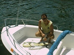 The Outdoors Guy with a small Dolphing and a King Mackerel